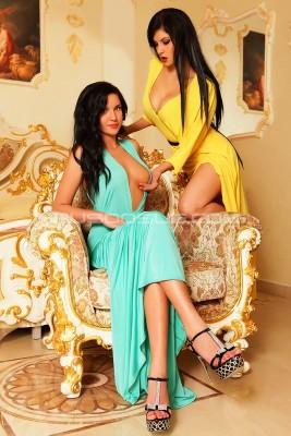 Проститутка Кира и Карина